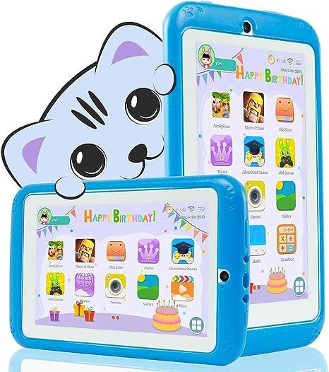 YESTEL Tablet para Niños 7 Pulgadas Android 8.1 Tableta Infantil y ...