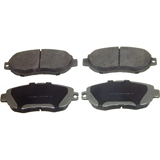 Disc Brake Pad Set-ThermoQuiet Disc Brake Pad Front Wagner QC781A