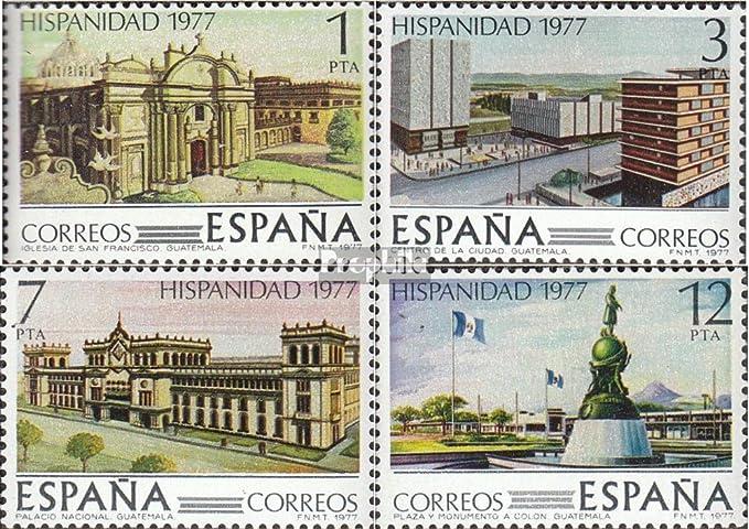 Prophila Collection España Michel.-No..: 2331-2334 (Completa.edición.) 1977 Guatemala (Sellos para los coleccionistas): Amazon.es: Juguetes y juegos