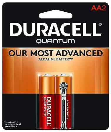 Amazon.com: Duracell – Quantum AA pilas alcalinas – batería ...