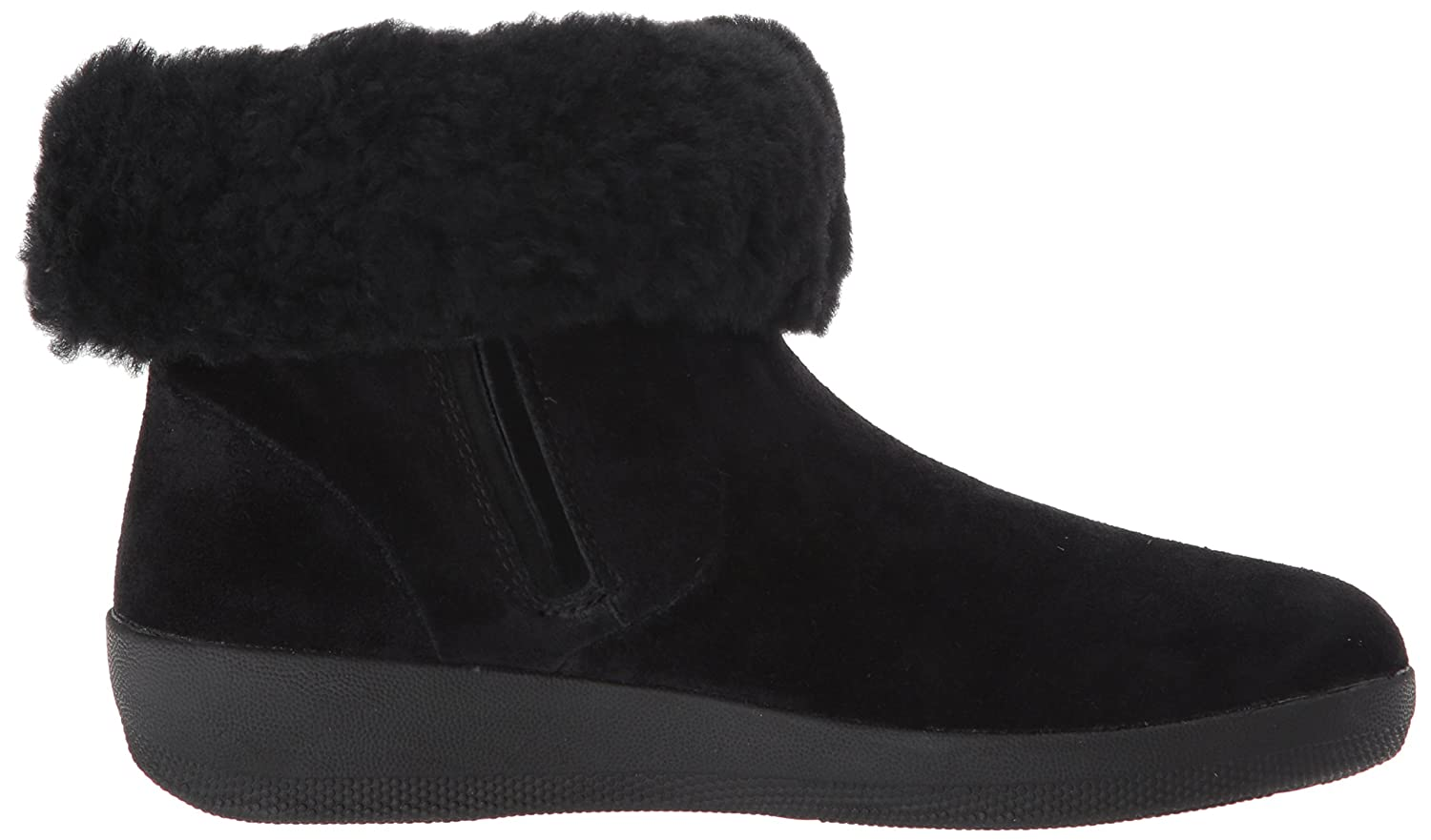 387ea21b1 ... FitFlop Women s Skatebootie Suede Shearling Ankle Boot B06XGKQSD7 7.5  B(M) B(M ...