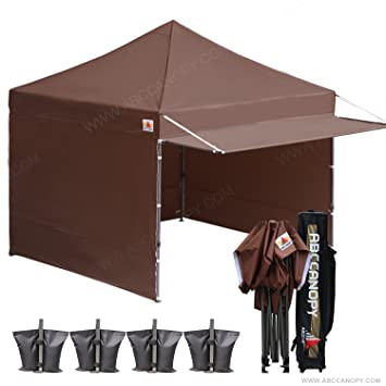 (20+colors)10x10 AbcCanopy Easy Pop up Canopy Tent Instant Shelter Commercial Portable  sc 1 st  Amazon.com & Amazon.com : (20+colors)10x10 AbcCanopy Easy Pop up Canopy Tent ...