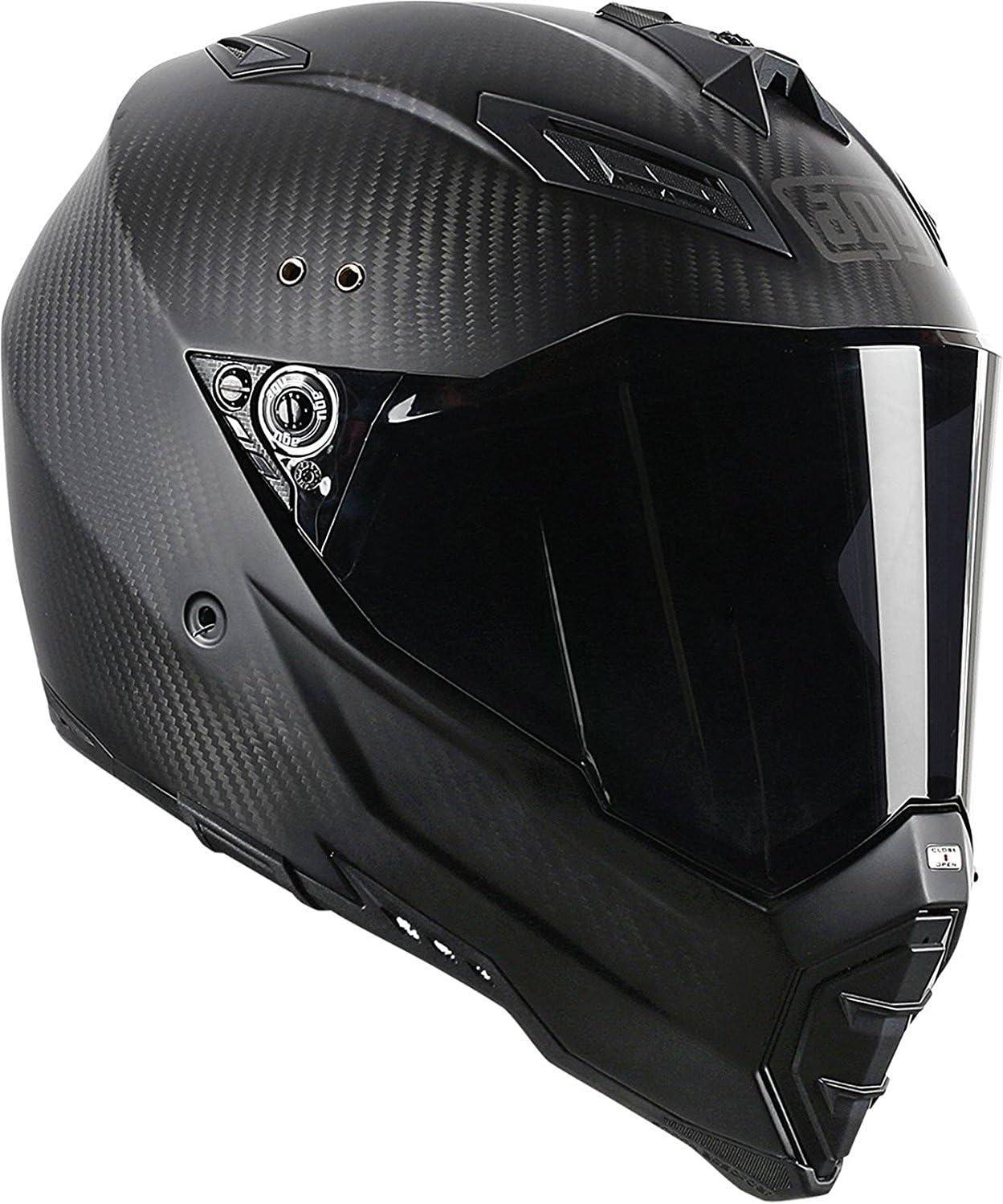 AGV AX-8 EVO Naked Carbon Fury Helmet at BikeBandit.com