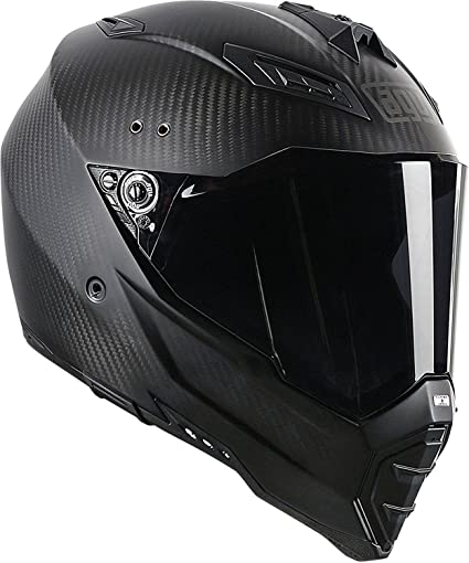 AGV AX-8 Evo Naked Road Helmet (Carbon Fiber, Large)