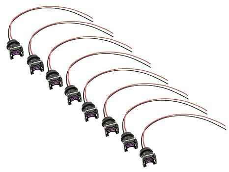 Fantastic Amazon Com Michigan Motorsports Ev1 Fuel Injector Connector Plug Wiring 101 Capemaxxcnl