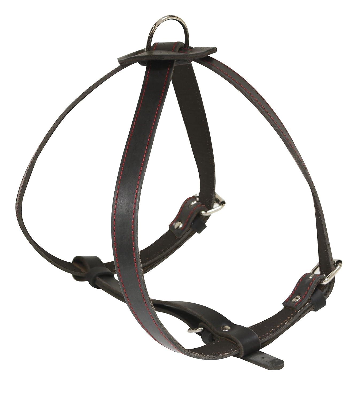 Black 70 cm Black 70 cm Croci Elite x Leather Harness, 70 cm, Black