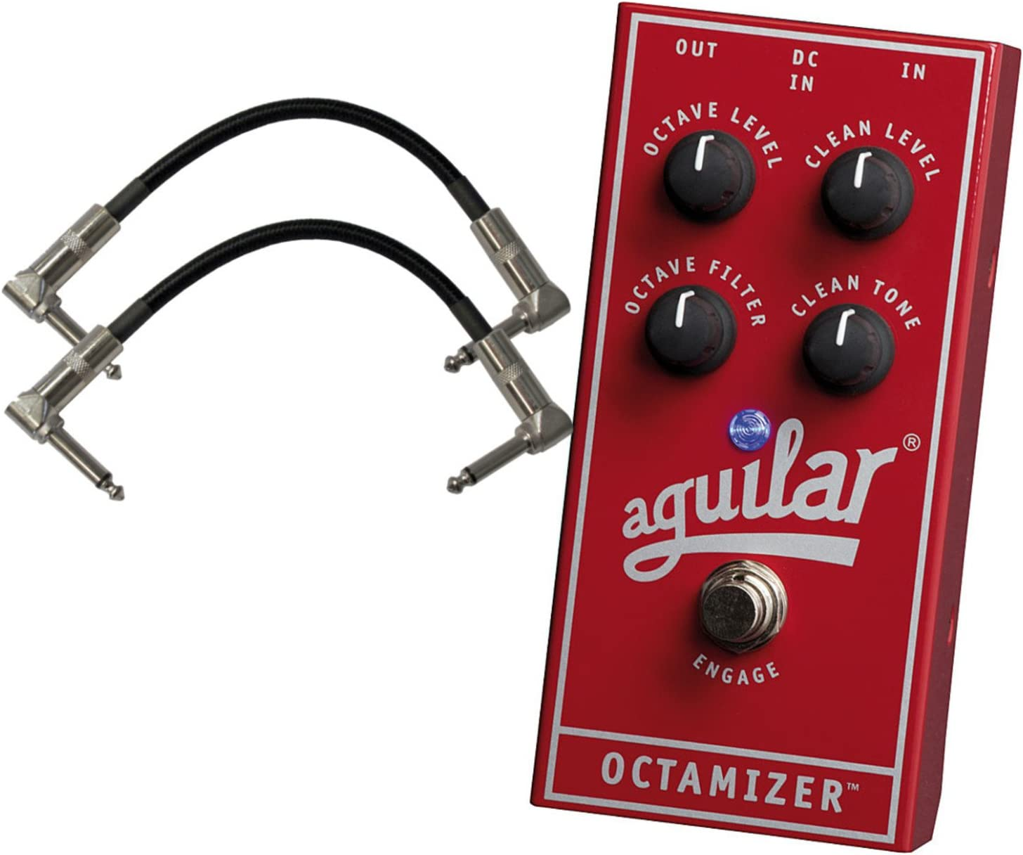 Aguilar Octamizer Analog Octave Bass Pedal W/ 2 Cables