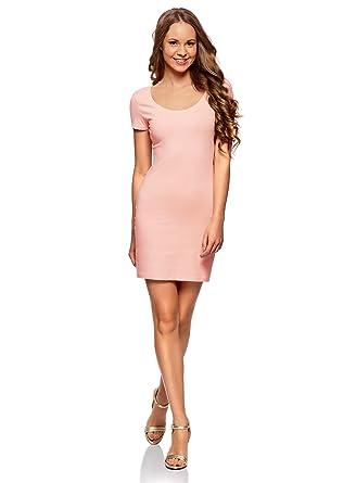 f36139235f4c oodji Ultra Femme Robe Moulante en Maille  Amazon.fr  Vêtements et ...