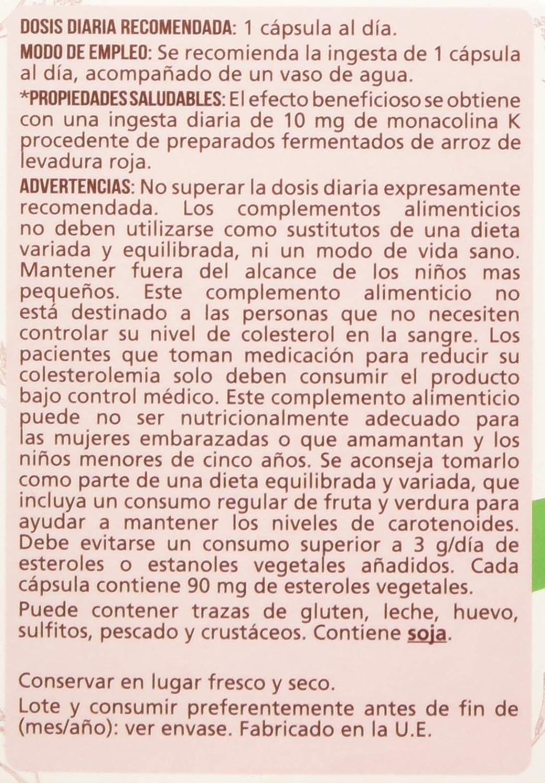 Naturlider Levadura roja de Arroz con Q10-60 Cápsulas: Amazon.es: Salud y cuidado personal
