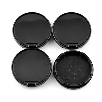 Rhinotuning 56mm/52mm Wheel Center Hub Caps Black ABS for Replace #6N0601171 Set of 4: Automotive [5Bkhe2004122]