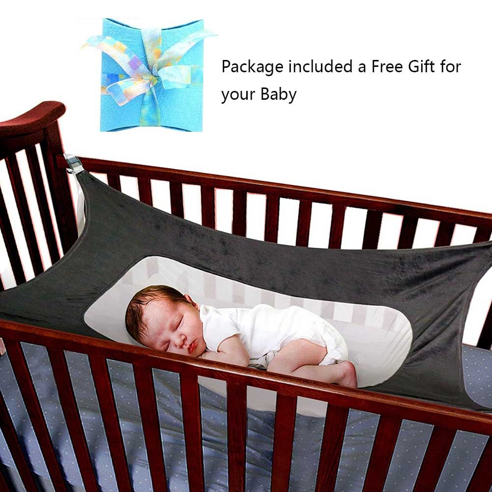 Baby Crib Hammock for Nursery Beds Cribs Bedding Hammocks Absolutely Safety Sleeping Baby Womb-Like Hammocks SYITCUN