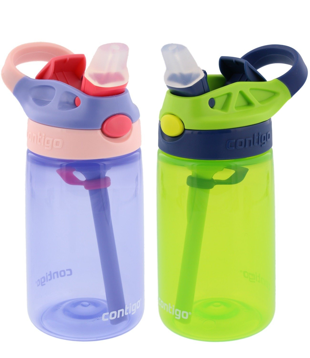 Contigo Kids Water Bottle, Pack of 3, 414 ml
