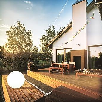 Riesige Wetterfest Garten Kugel Leuchte 80 Cm Durchmesser