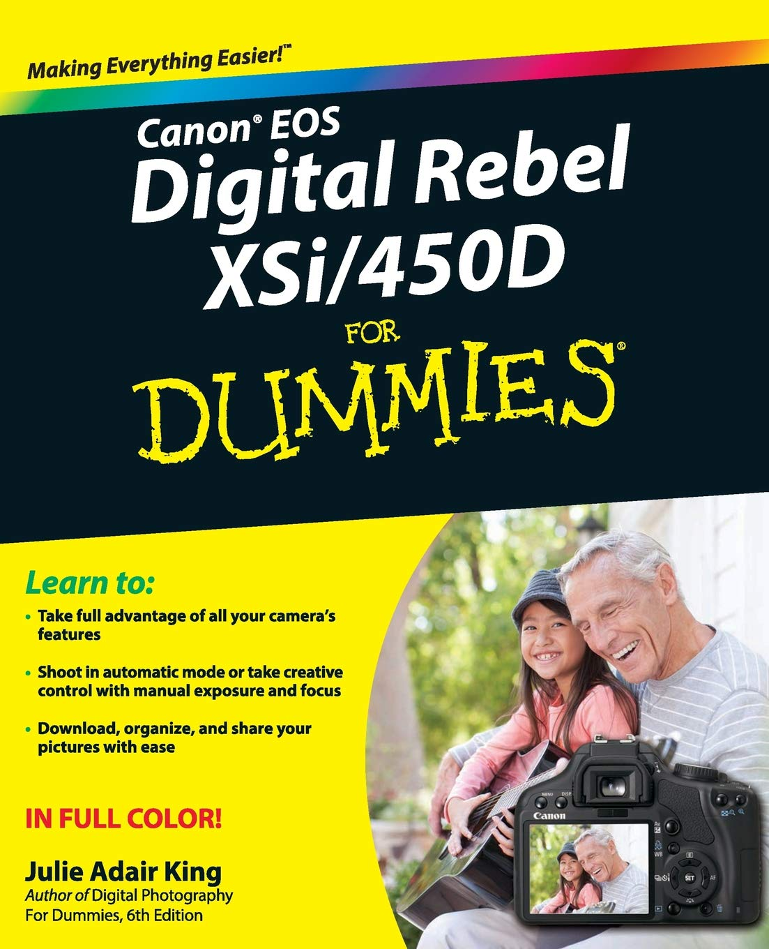 Canon EOS Digital Rebel XSi/450D For Dummies: Amazon co uk