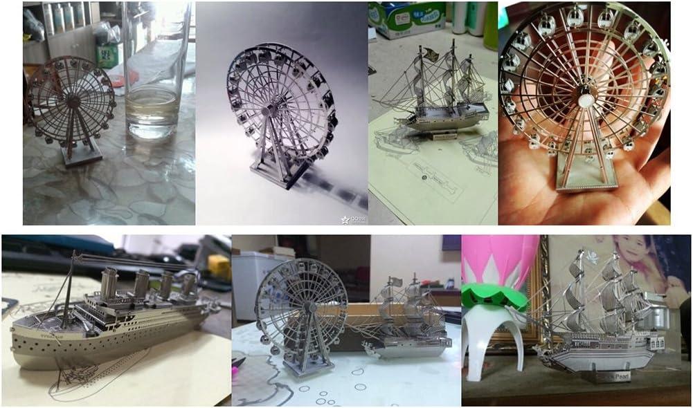 Winomo 3D modelo de Metal perla negra barco pirata modelo ...