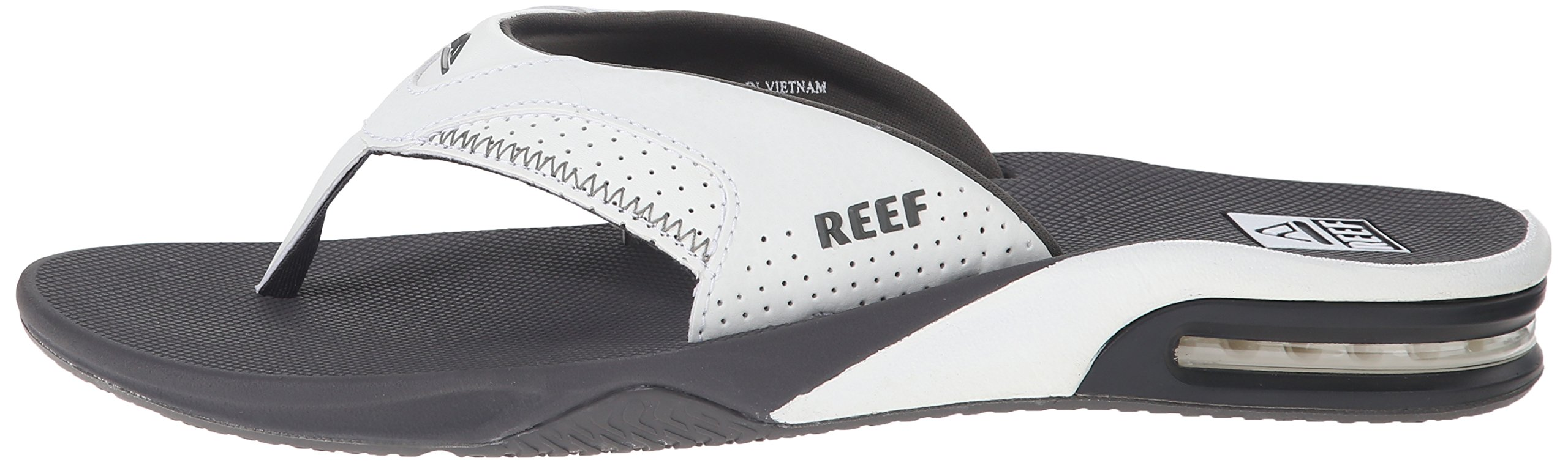 Reef Fanning Mens Sandals  Bottle Opener Flip Flops For Men,GREY/WHITE,7 M US by Reef (Image #5)