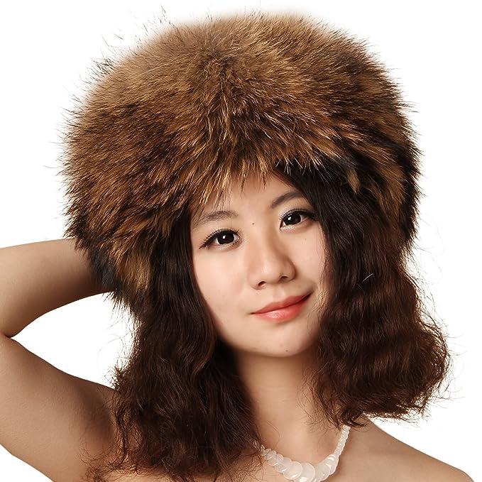 3bf57f0397b FURTALK Fashion Genuine Fox Fur Hat with Tail Russian Women Winter  Mongolian Cap Best Gift (