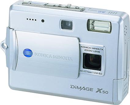 amazon com konica minolta dimage x50 5mp digital camera with 2 8x rh amazon com Minolta DiMAGE Z5 Minolta DiMAGE XT