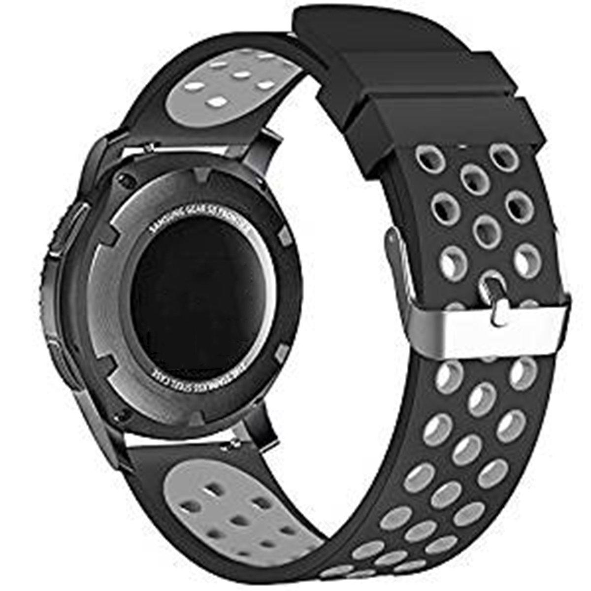 Elespoto Reloj Inteligente Smart Watch 22mm Silicona Banda de Reloj de la correa de para Samsung Gear S3 frontier / Classic / Gear2 R380 Neo R381 Live ...