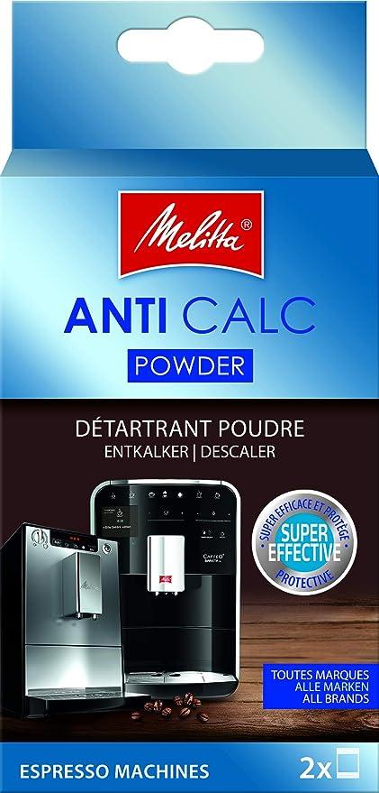 Melitta 178582 Anti Calc - Descalcificador para máquinas de café espresso
