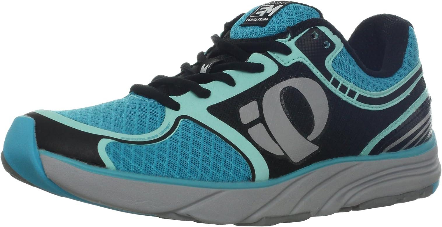 PEARL IZUMI E:Motion Road M3 Zapatilla de Running Señora, Negro/Gris/Azul, 37.5: Amazon.es: Zapatos y complementos