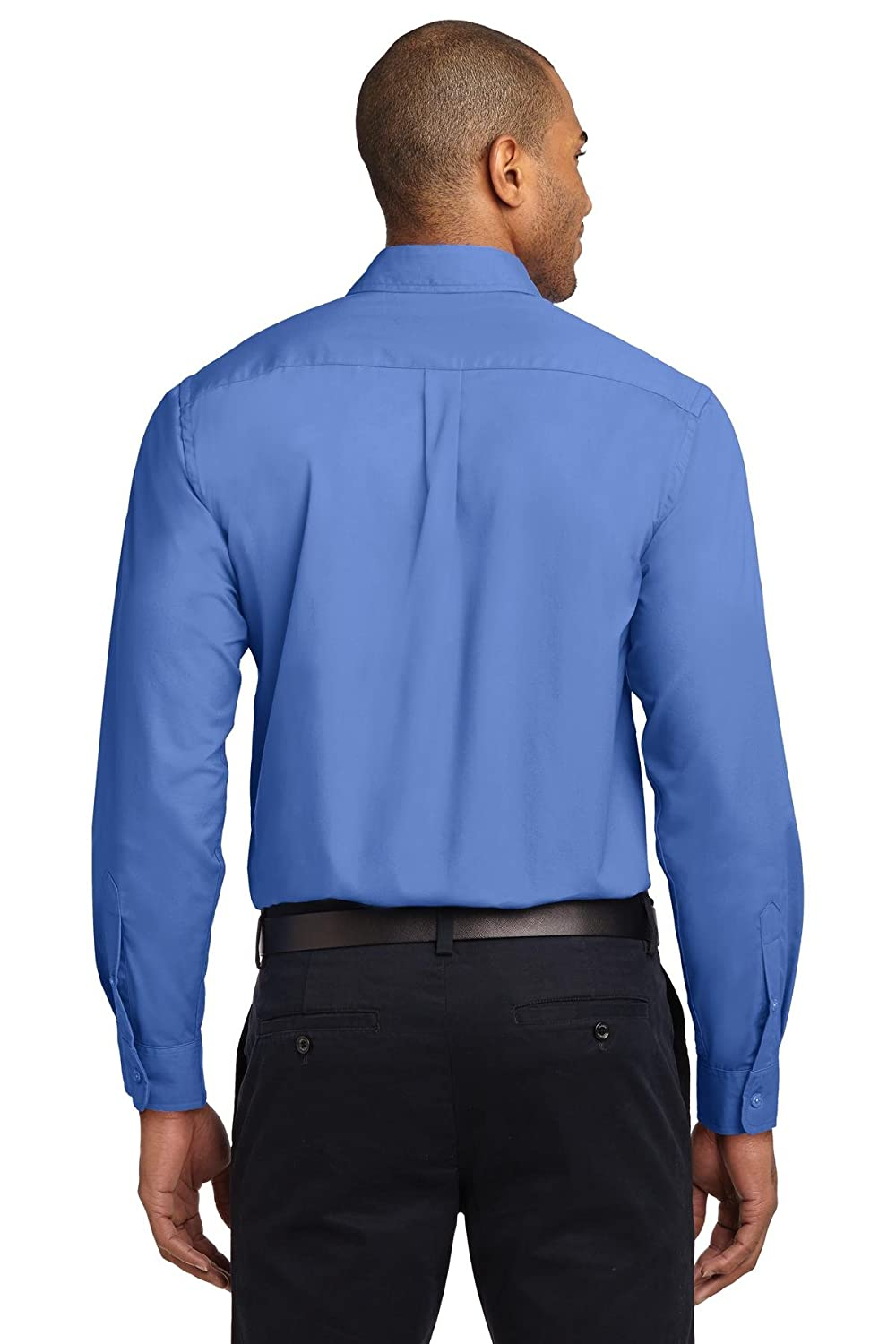 S608 Port Authority Mens Long Sleeve Easy Care Shirt