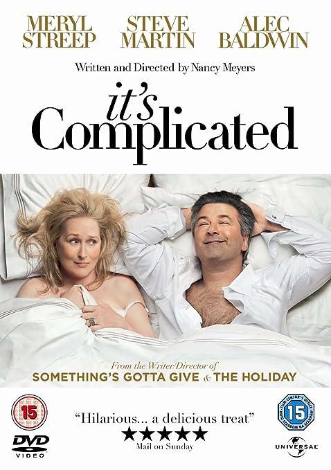 It's Complicated [DVD] (2009): Amazon.co.uk: Meryl Streep, Steve Martin,  Alec Baldwin, John Krasinski, Lake Bell, Mary Kay Place, Rita Wilson, Nancy  Meyers: ...