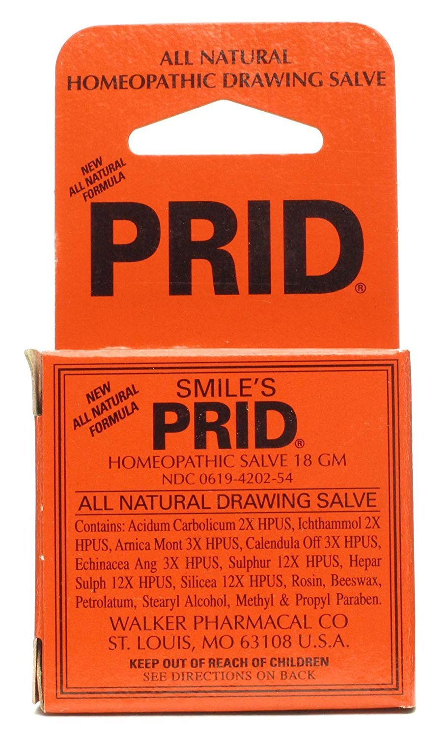Prid Homeopathic Salve 18 g