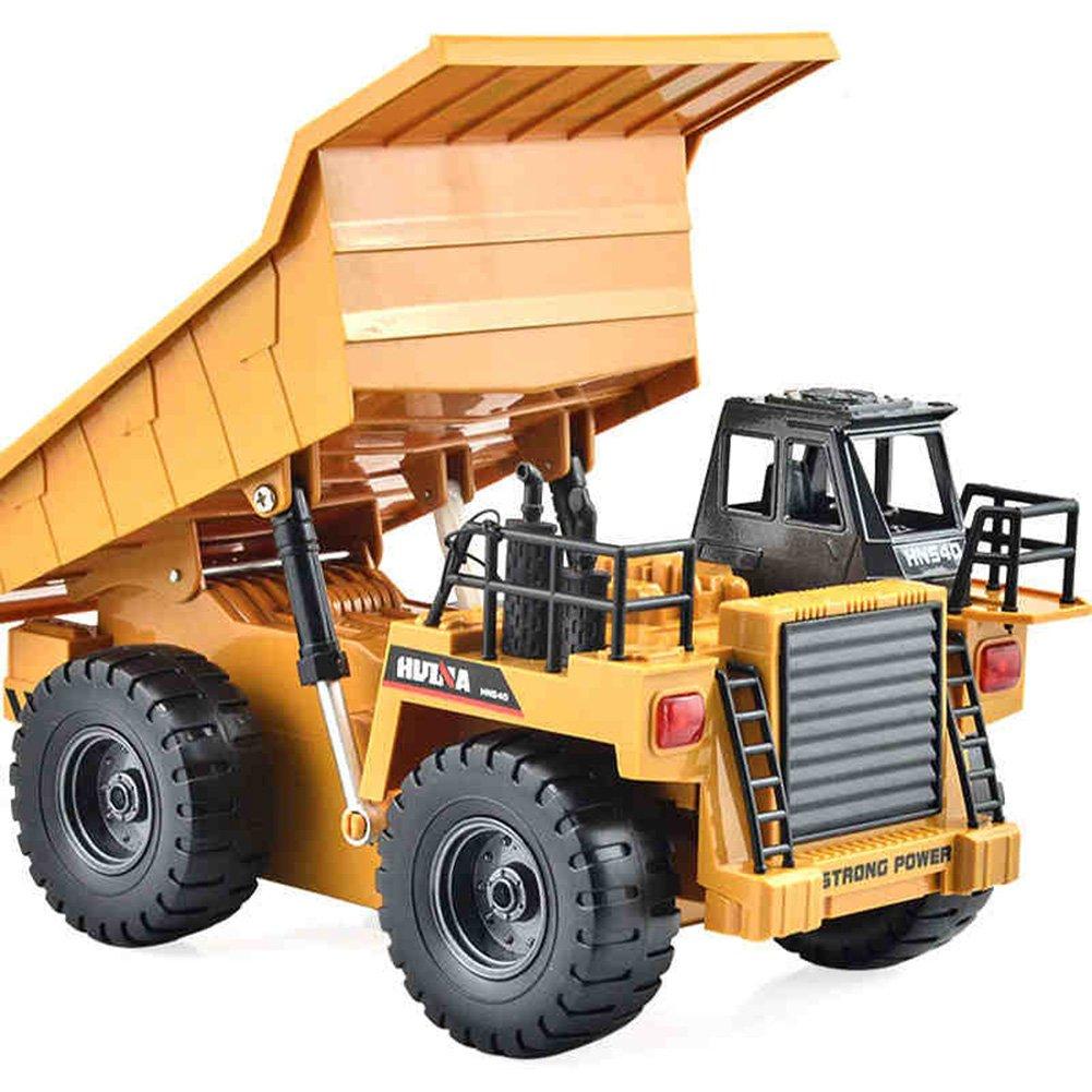 Reducción de precio Juguetes para Bebés FEI Vehículos de ingeniería de camiones volquete de simulación Coche modelo de camiones volquete de juguete modelo de control remoto Temprano Educación