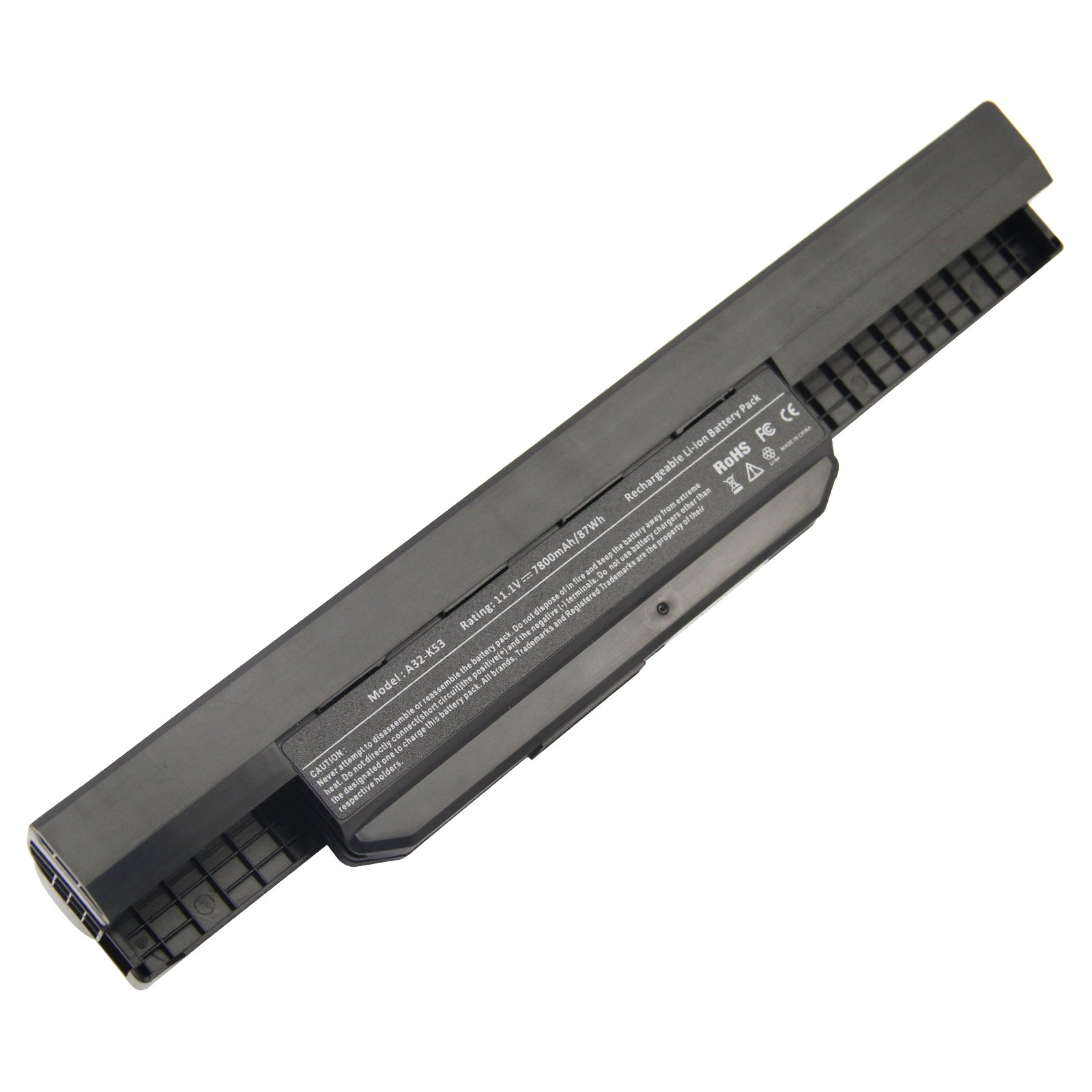 Bateria 7800mAh 10.8V Asus A32-K53 A42-K53 A53S K43 A45 K53