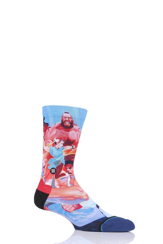 Stance Street Fighter II Crew Socks - Multi Large Stance Socks M558A18STR-MUL