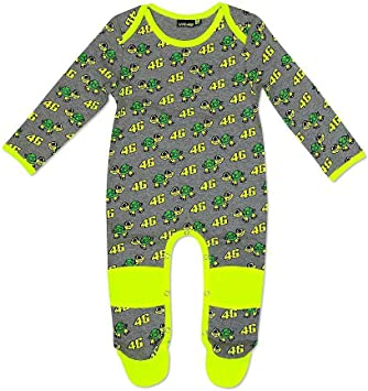 Official VR46 Valentino Rossi Cotton Baby Body Turtle Motorcycle All Sizes