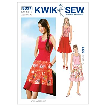 KWIK-SEW PATTERNS Kwik Sew Muster K3337 Größe Extra Small/Medium ...