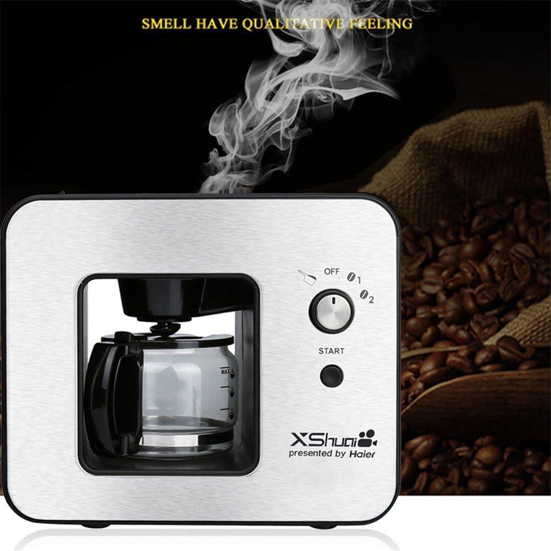 Newest (4 tazas cafetera máquina de molienda café Brewer cafetera ...