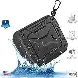ZAAP ® AQUA BOOM waterproof/ Shockproof Bluetooth speaker With Built-In Microphone,(Black)UNIVERSAL COMPATIBILITY