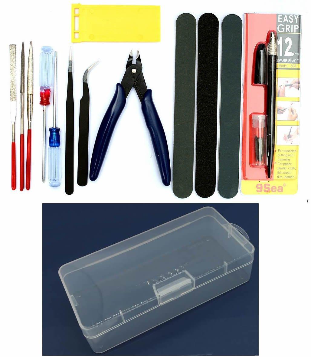Gundam Modeler Basic Tools Craft Set For Car Model Assemble Building Kit by Alemon
