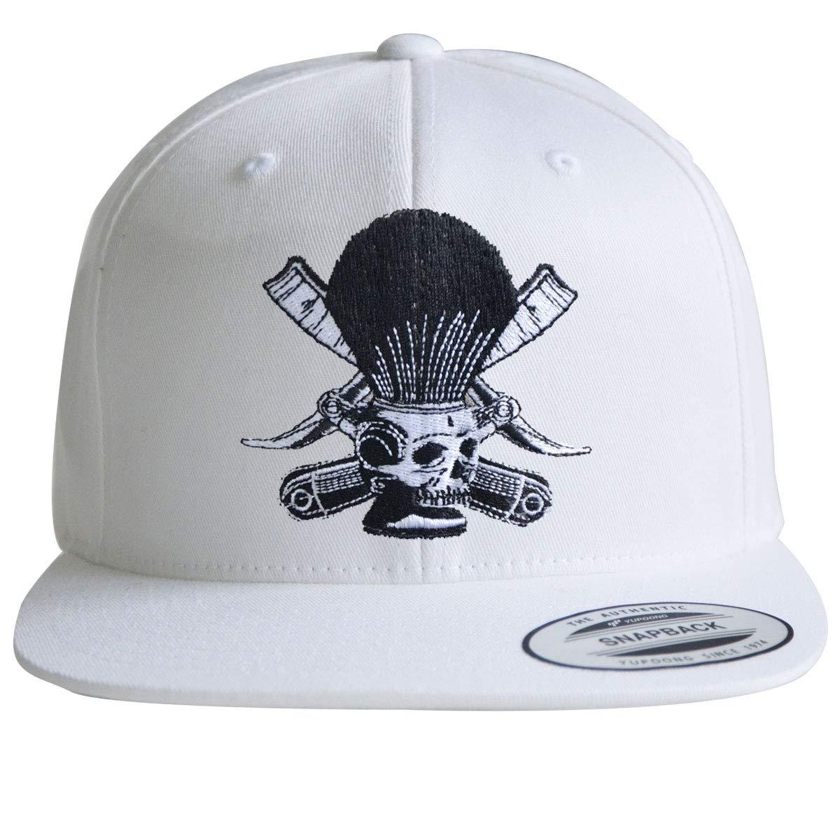 Snapback    Barber Cap   Skull Cap   Herren & Damen Kappe   Cappy mit Hochwertiger Stickerei   ONE Größe   Flexfit Caps B07KKCJ9MD Baseball Caps Ausgezeichnete Leistung
