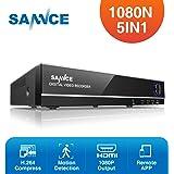 SANNCE 8CH 1080N Enregistreur Vidéo Numérique H.264 HDMI DVR CCTV Système de Sécurité Support Audio Enregistrement Contrôle Motion Detection de Mouvement Email Alarme