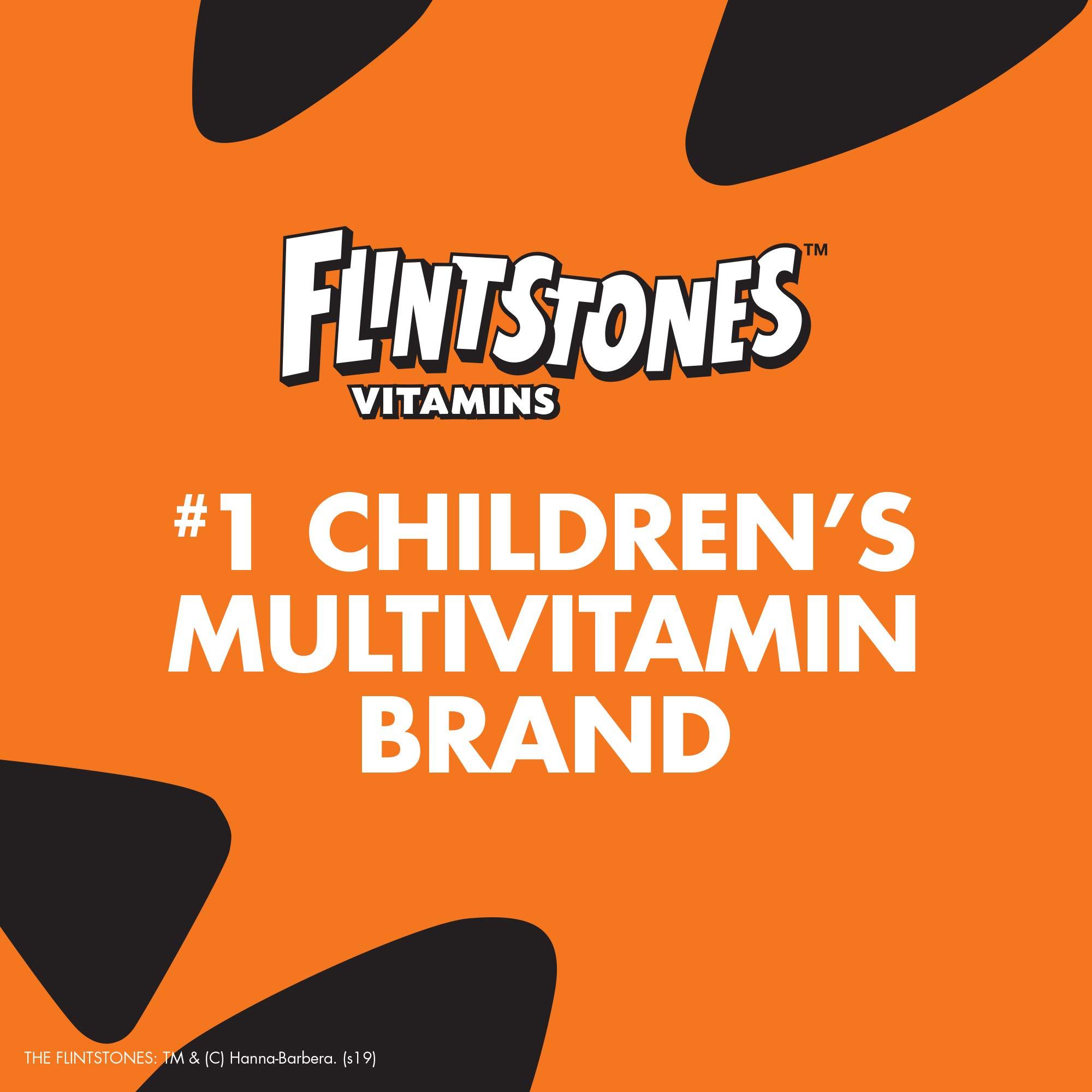 Flintstones Gummies Kids Vitamins with Immunity Support*, Kids and Toddler Multivitamin with Vitamin C, Vitamin D, B12, Zinc & more, 150ct