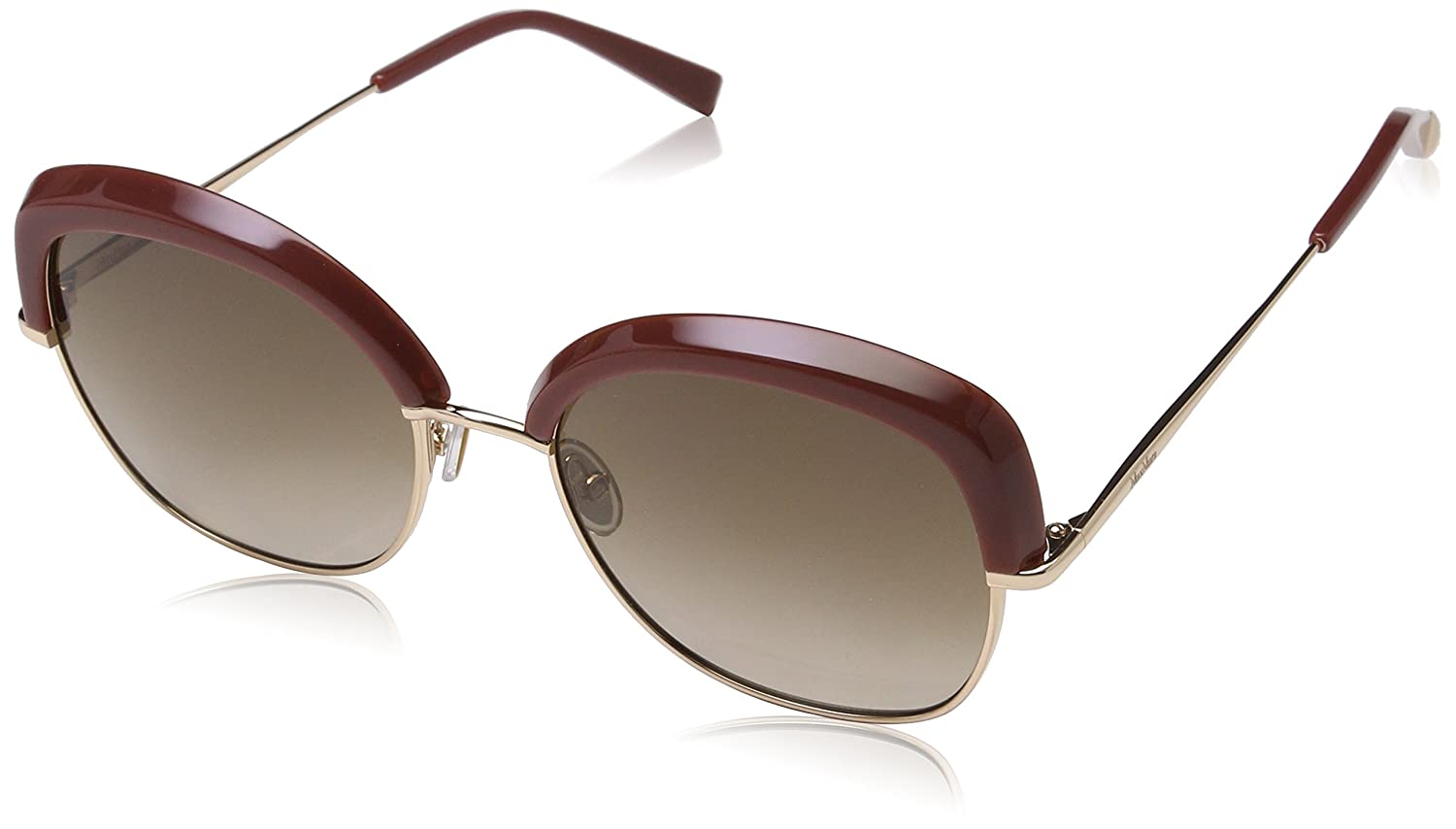 Max Mara Mm Needle V Ha Buh 56 Gafas de sol, Dorado (Brick Gold/Bw Brown), Mujer