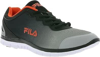 Fila - Zapatillas de Tela para Hombre Gris Gris, Color Gris, Talla ...