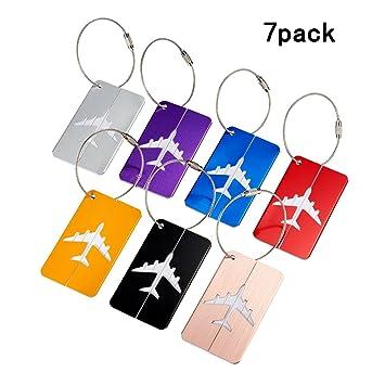 2e74642019 Bagages sac à main Tag TKSTAR Étiquette de bagage de voyage Identifier  Étiquettes 7 couleurs tag