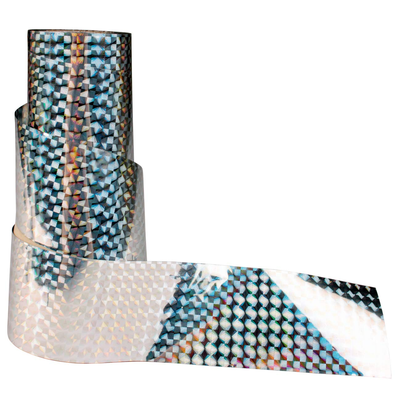 Bird Repellent Scare Tape - Keep Away Pigeons, Ducks, Crows and More - Deterrent Works with Netting And Spikes - 350ft De-Bird