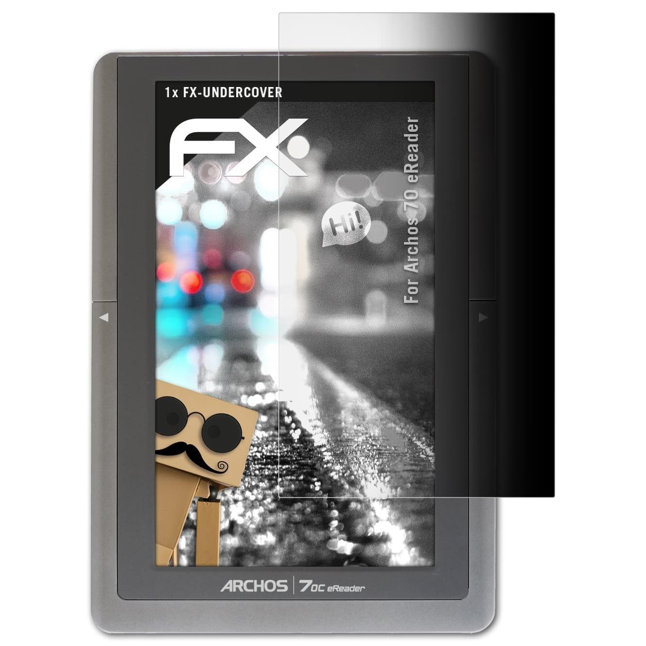 atFoliX Filtro de Privacidad para Archos 70 eReader Película de ...