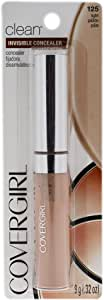 COVERGIRL Invisible Cream Concealer Light 125 9mL