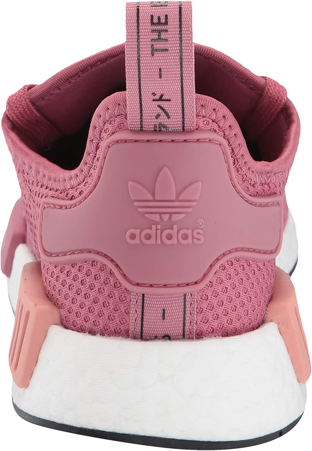 adidas NMD_r1 W, Chaussures de Gymnastique Femme Trace Maroon Trace Maroon Trace Pink