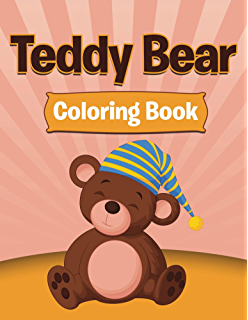 Teddy Bear Coloring Books For Kids Art Book Series
