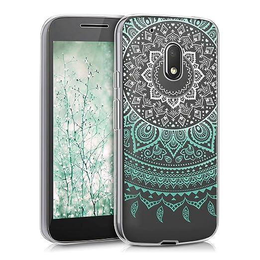 2 opinioni per kwmobile Cover per Motorola Moto G4 Play- Custodia in silicone TPU- Back case