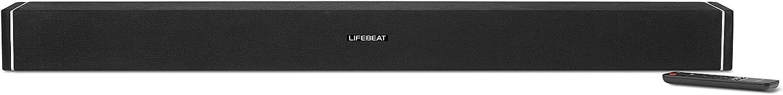 Medion Lifebeat P61078 Barra de Sonido con Wi-Fi, 2 Altavoces de 18 W RMS, subwoofer de 36 W RMS Integrado, Bluetooth y Compatible con DLNA