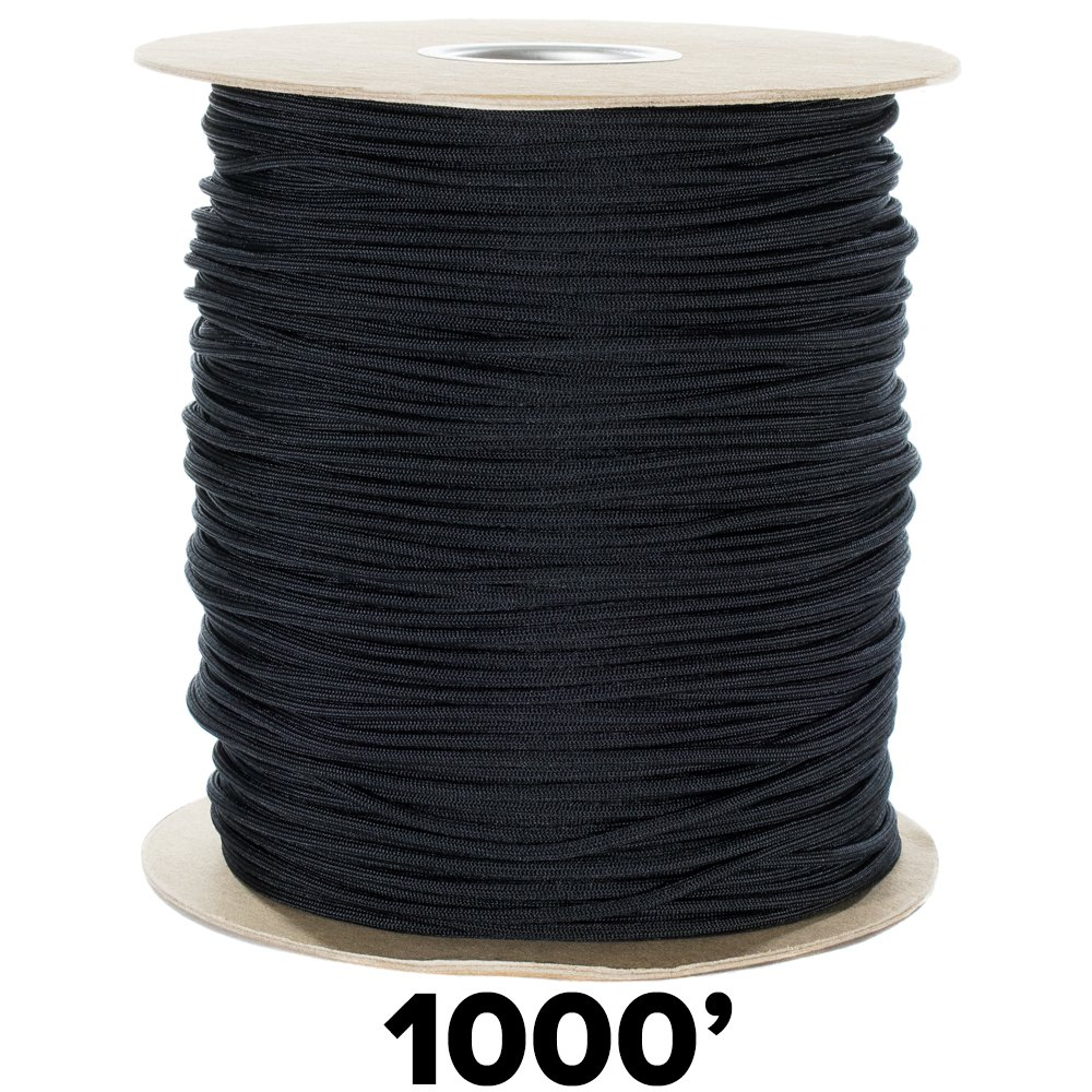 GOLBERG 550lb Parachute Cord Paracord 100/% Nylon USA Made Mil-Spec Type III Paracord Multiple Colors /& Lengths Available Used by The US Military